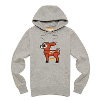 [����]POPDEER FLEECE HOODY (HEATHER GREY)_PPOTIHD03UC4 PPOTIHD03
