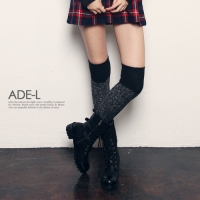 boca over knee socks / ��ī ���� �ϻ轺_(258752)