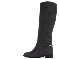 Chain Suede Long Boots [KEPL1136]