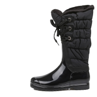 Shirring Padding midi Boots [KEP1149]