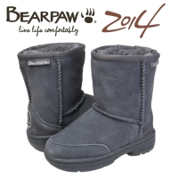 �����Ŀ�(BEARPAW) MEADOW TODDLER 5 CHARCOAL(kids) 604049FD-T_(10