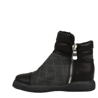 Quilting Lux Fur Short Boots [KEP1162]