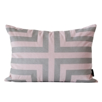 The Glory Cushion �� �۷θ� ���  [35x50] [Pink / Sliver]