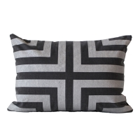 The Glory Cushion �� �۷θ� ���  [35x50] [Deepgrey / Sliver]