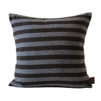 Woollen Stripe Cushion �コƮ��������� [Brown]