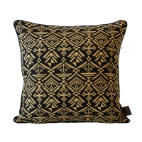 Jacquard Loom Cushion ��ī�� �� ��� [Carmel]