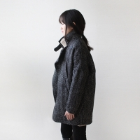 herringbone over coat