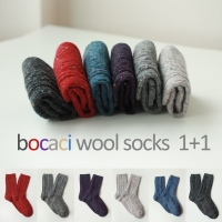 [1+1] bocaci wool socks