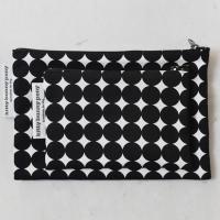 yayoi black pouch
