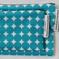 yayoi blue pouch