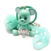 BOMGOM BEAR KEYRING_(mint bear)