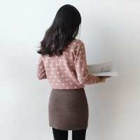 warm mini skirt