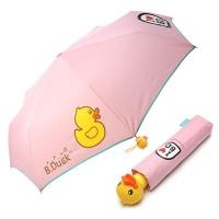[B.DUCK] 비덕 3단 수동 우산(양산겸용) _ 베이비핑크