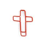 Fun Clip 십자가 레드 (10p)