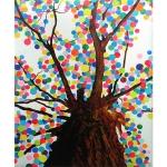 [해피레인] 캔버스아트-꿈나무(Dream Tree) 네번째