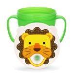 에디슨 아기 흘림 방지 빨대컵 꺼꾸로 컵 역류방지