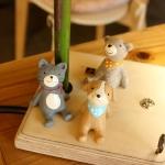 앉아있는 동물친구들 시리즈