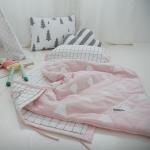 마운틴거즈 핑크 낮잠이불_(700526509)