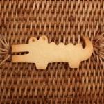 수제 쿠키커터 - 악어(중)