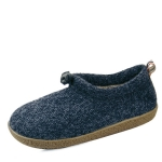 Knitted string fur slippers_KM14w173