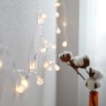 LED 추억이 방울방울 배터리팩전구