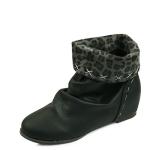 X-stitch tall up half boots_KM14w343