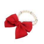[monchouchou] Lovely pearl necklace_Red