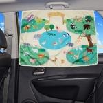 자외선차단 차량용 햇빛가리개 - 동물원