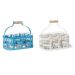[Garden Trading]Glass Carrier With 6 Glasses보틀캐리어