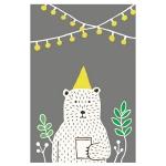 포스터- party bear 곰 포스터