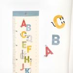 코니테일 키재기 포스터 - 알파벳 (키재기자)