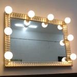 볼라레 은금 조명거울