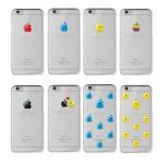 [이니셜서비스]스마일 애플 (입체엠보코팅)