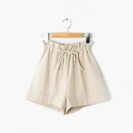 ribbon short banding pants