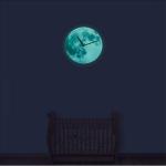 야광 달시계 Luminous Moon Clokck