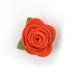 부직포 꽃 코사지