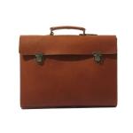 monomano satchel/brown
