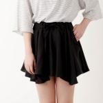 wave skirt pants