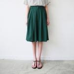 Linen wide crop pants