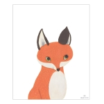 [Millim] Zoo_Print_Fox
