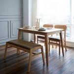 코코로(K) 4인 식탁세트(의자/벤치)