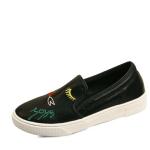 국내생산 LOVE embroidery slip on sneakers_KM15w025