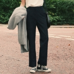 Daily straight fit slacks
