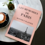 LES MEMOIRES DE PARIS-Monthly Planner