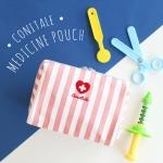 코니테일 삐뽀삐뽀 파우치 L - 핑크 (비상약,구급함)