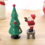 크리스마스 트리+산타 장식 2종 set
