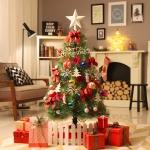 [크리스마스트리]후레쉬 트리세트 120cm