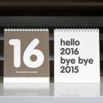 TABLE CALENDAR 2016
