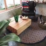 루벤스 라운드 프린지 매트 : rubens round fringy mat