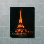 LED 조명 인테리어 액자 에펠탑